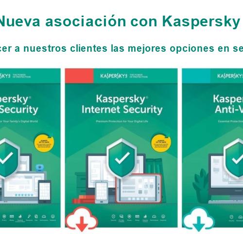 Kaspersky, una nueva asociación